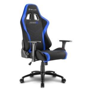 Sharkoon SKILLER SGS2 Sedia da Gaming nero e blu
