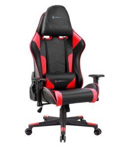 Sedia da gaming NewSkill Kitsune rosso e nero